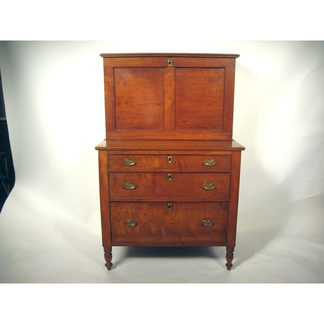 Diminutive Federal Secretary Desk - Image 2 of 6