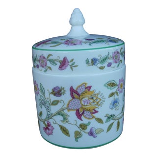 Vintage English Minton Condiment Jar For Sale