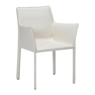 Jada Arm Chair - White For Sale