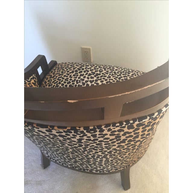 Leopard Print Chair - Image 6 of 7