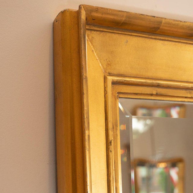 Late 19th Century Vintage Tall Giltwood Mirror For Sale - Image 4 of 6