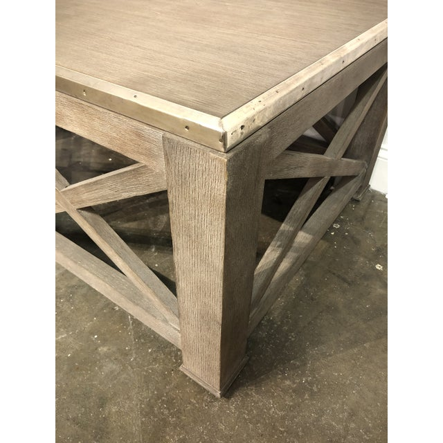 Hickory White Rustic Lillian August for Hickory White Burleigh Slim Coffee Table For Sale - Image 4 of 6