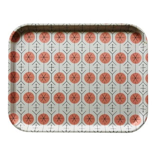 George Nelson Pink 'Pavement' Boltabest Tray For Sale