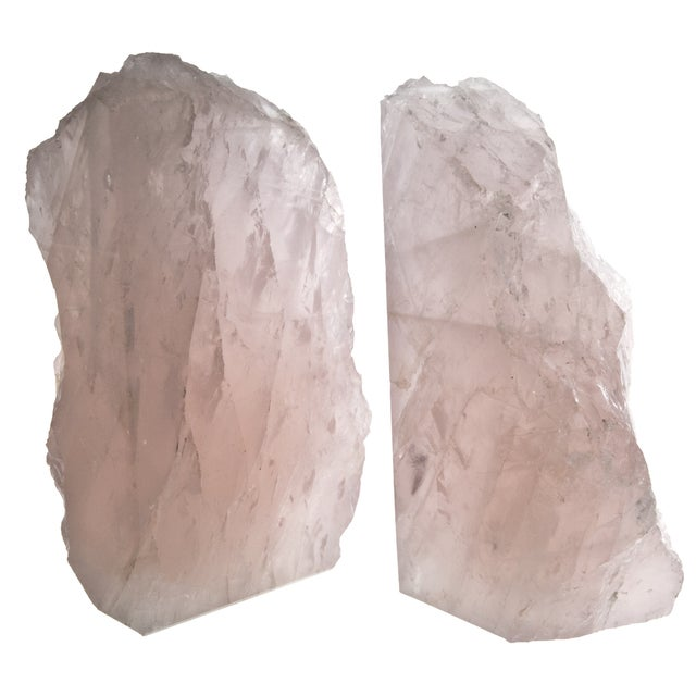 Rose Quartz Bookends - Pair - Image 4 of 4