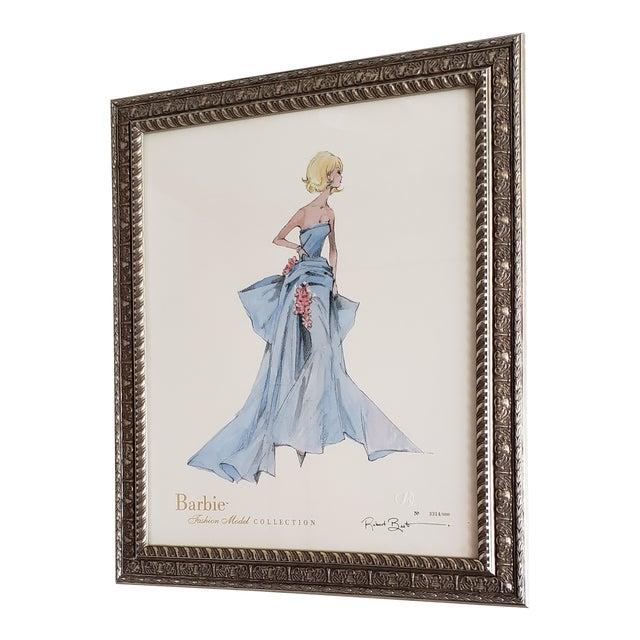 robert best limited edition delphine barbie doll barbie print