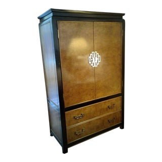 "Chinoiserie Asian ""Chin Hua"" Armoire by Century Furniture"