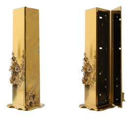 Image of Brass Screens and Room Dividers