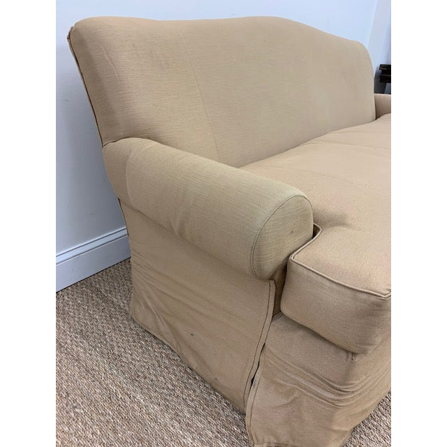 Nancy Corzine Nancy Corzine Sofa W/ Bench Cushion For Sale - Image 4 of 10