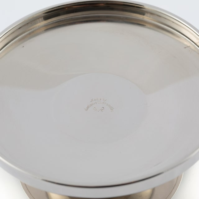 Silver Tommi Parzinger Polished-Nickel Ice Bucket, Circa 1950s For Sale - Image 8 of 9