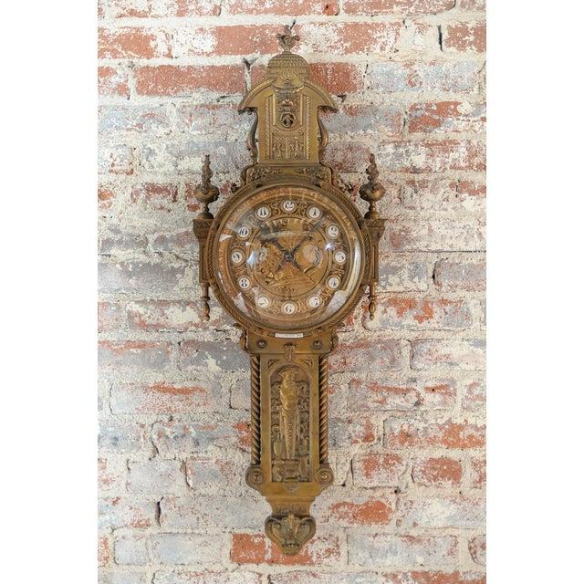 19th Century Creusy Paris Bronze French Clock - Image 2 of 10