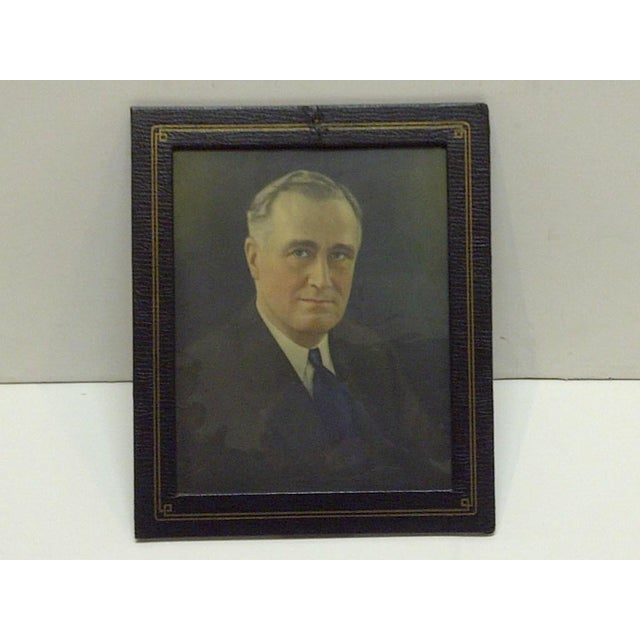 Vintage Photograph President Franklin D. Roosevelt, 1930 - Image 5 of 5