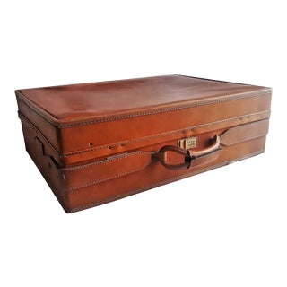 Vintage Hartmann Leather Belting Woodbox Luggage