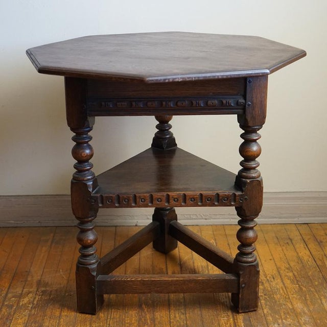 19th Century Jacobean Occasional Table - Image 3 of 7