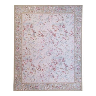 """Pasargad Aubusson Hand Woven Wool Rug - 9'10"""" X 14' 1"""""""