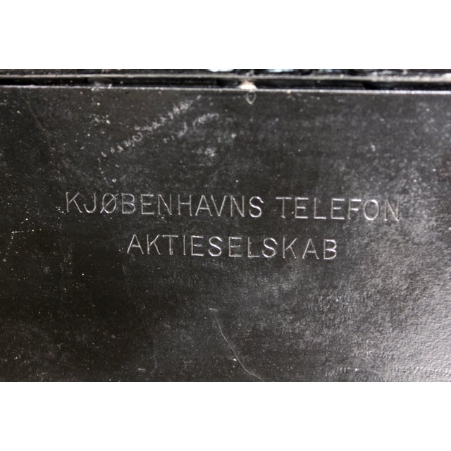 Antique European Kjobenhavns Cradle Telephone - Image 6 of 6