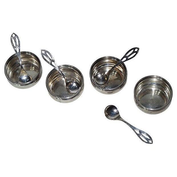C. 1900 Sterling Salt Cellars - Set of 4 - Image 2 of 4