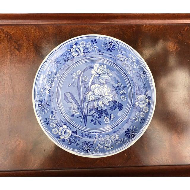 Ceramic Large Spode Blue Room Collection Botanical Plate/Platter For Sale - Image 7 of 7