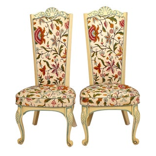 Set of Eight, 20th Century Hollywood Regency Chairs For Sale