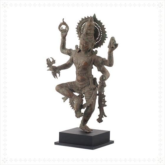 Shiva Bronze Statue - Image 3 of 4