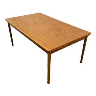 Danish Modern Dining Table For Sale