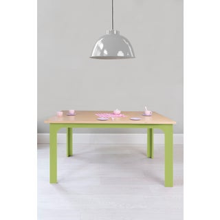 "Craft Kids 42"" Table in Birch With Green Finish Preview"