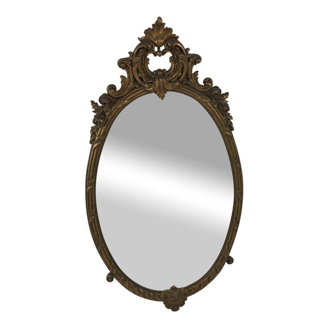 Early 20th Century Rococo Mirror For Sale