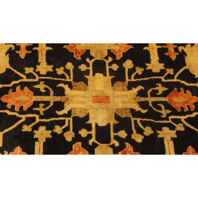 "Wool Pile Indian Bakhshayesh Rug - 12'3"" x 9'3"" - Image 2 of 3"