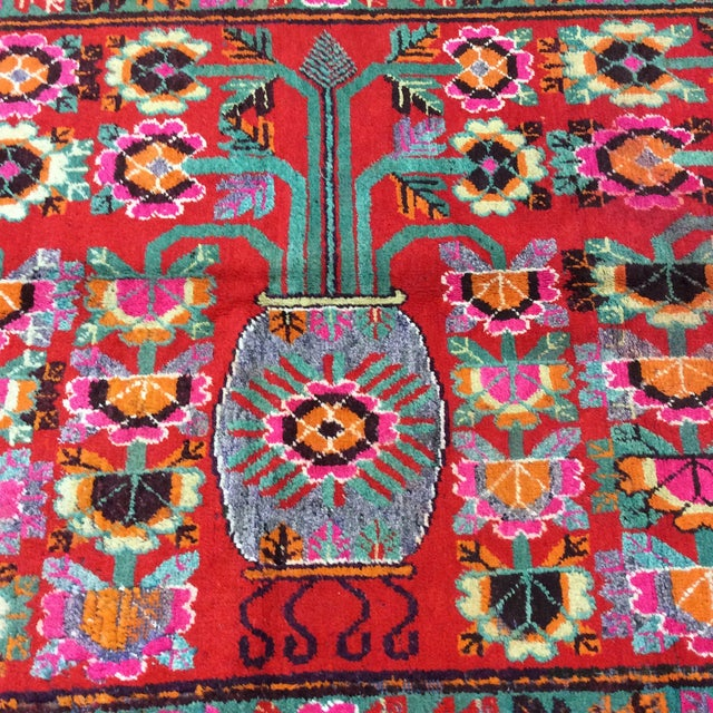 Vintage Chinese Khotan Rug - 4'9x10' For Sale - Image 10 of 13