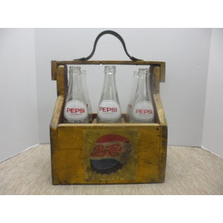 Vintage Pepsi Bottles - Set of 6 Preview