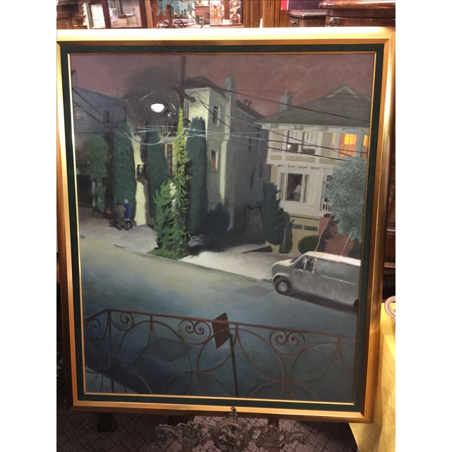 Contemporary Nicolette Ausschnitt Oil Painting For Sale - Image 3 of 7