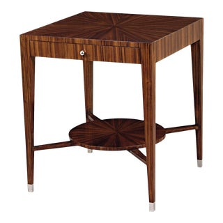 Scarborough House Sleek Square Side Table For Sale