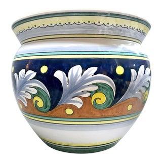 1960s Italian Cottura Ceramic Cachepot For Sale