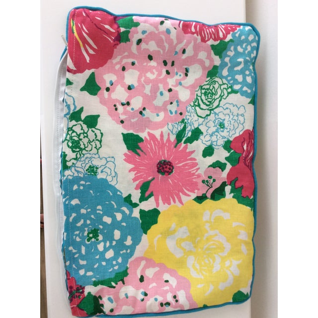 Cottage Style Handmade Floral Pillows - a Pair For Sale - Image 10 of 11