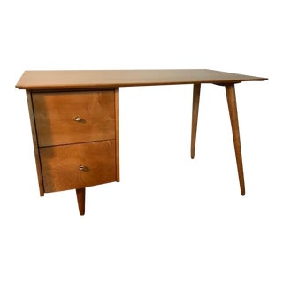 Mid-Century Modern Paul McCobb Planner Group Desk For Sale