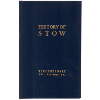 """1983 """"History of Stow, Vermont"""" Collectible Book For Sale"""