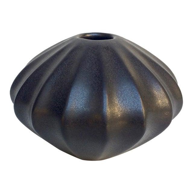 Jonathan Adler Black Bud Vase For Sale