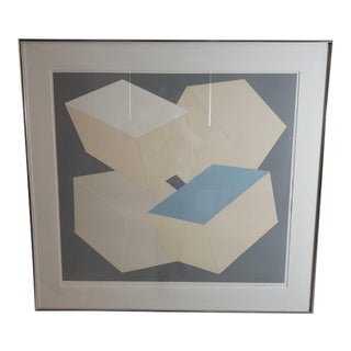 1976 Mid-Century Modern Lithograph by Charles Hinman For Sale
