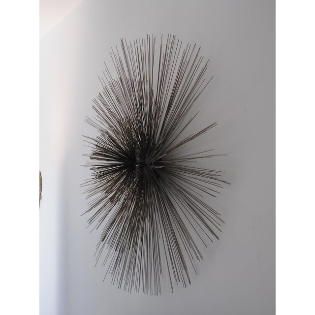 Curtis Jere Large Spoke Wall Sculpture For Sale - Image 5 of 9