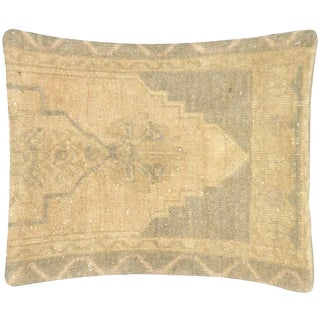 "Nalbandian - 1960s Turkish Oushak Pillow - 16"" X 19"" For Sale"