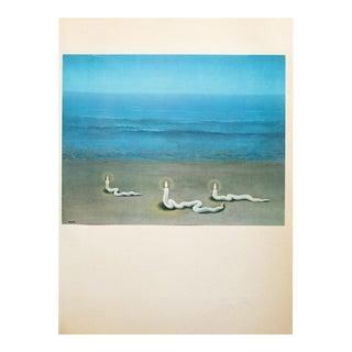 """1972 Rene Magritte, """"Meditation"""" Original Photogravure For Sale"""