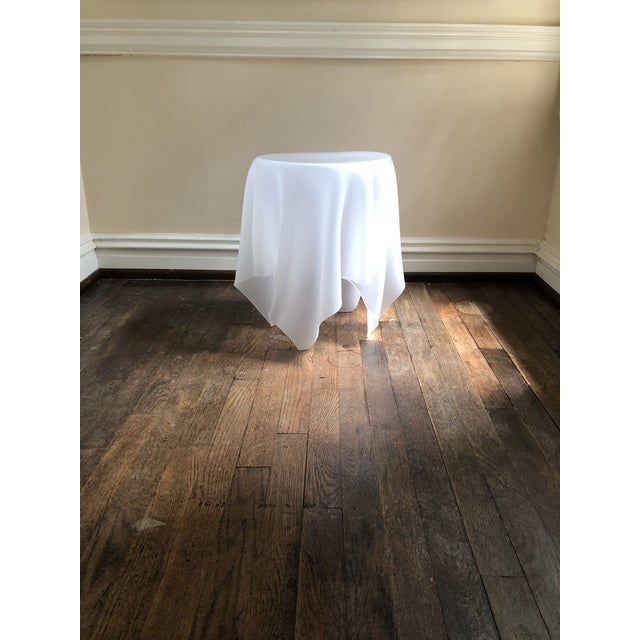 Late 20th Century Acrylic Handkerchief Table For Sale - Image 5 of 13