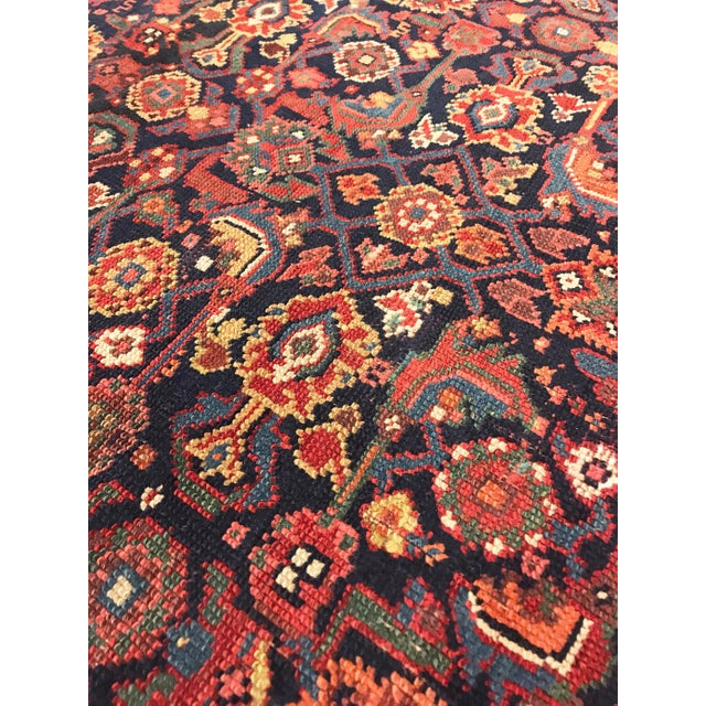1920s 1920s Antique Persian Rug - 4′10″ × 3′ For Sale - Image 5 of 6
