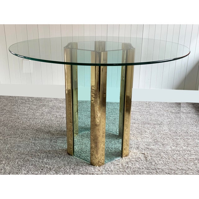 Hexagonal Dining Table by Leon Rosen for Pace For Sale - Image 10 of 10