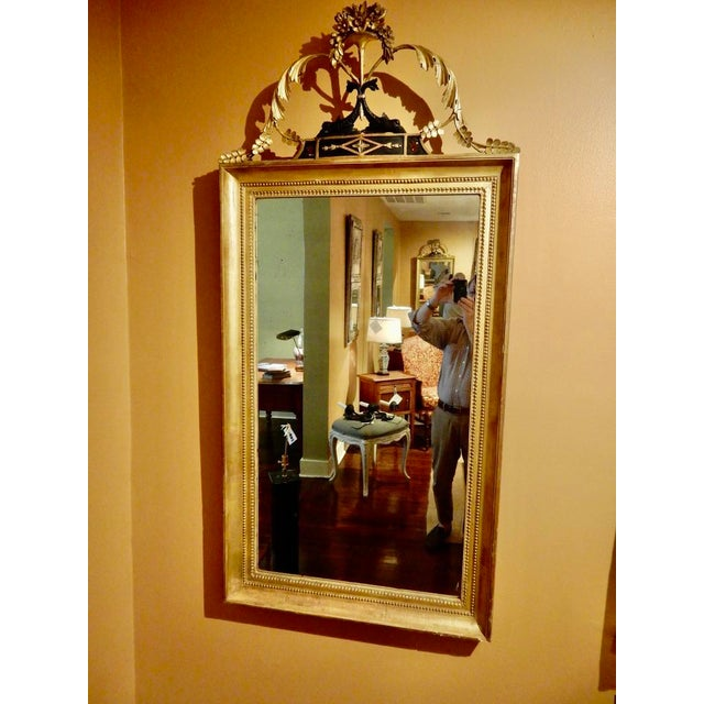 19th Century Elegant Neo-Classical Gilt Mirror For Sale - Image 5 of 5