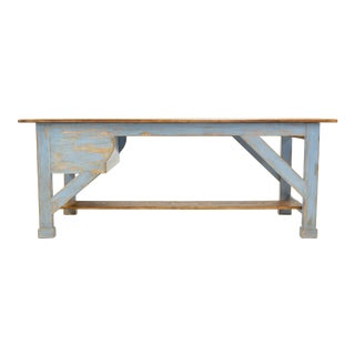 Sarreid Scrubbed Top Farm Table For Sale