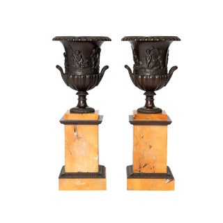 A Pair of 19th Century Grand Tour Urns For Sale