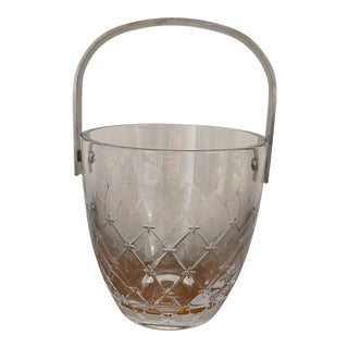 "Vintage Christian Dior ""Etoile"" Crystal Ice Bucket For Sale"