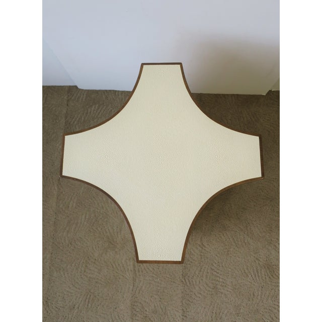 Contemporary Shagreen Esque Side Table For Sale - Image 9 of 10