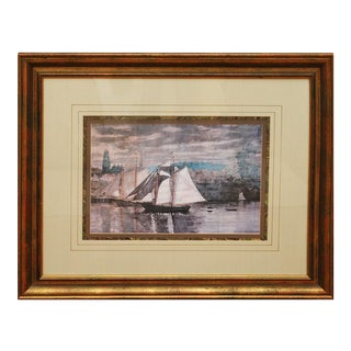 Large Winslow Homer Lithograph