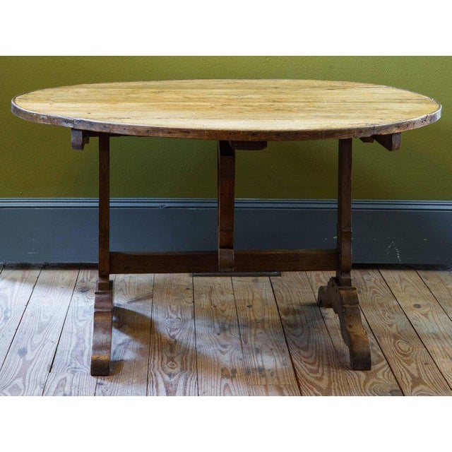Early 19th Century French Tilt-Top Vendage Table For Sale - Image 5 of 6